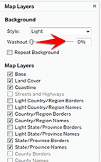 Edit Map Layers in Dual Axis Filled Map Tableau