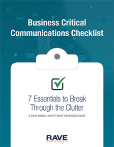 business critical communications checklist resource preview