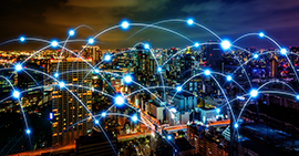 connected city graphic